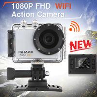 S600W WiFi Action Sport Camera FHD 1080P 30M Waterproof Helmet Sport Video Camera Mini DV Gopro style