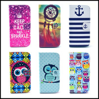 Luxury Leather Case For HTC Desire 500 506E Fashion Magnetic Flip Cases Cover With Wallet & Stand Funcion PY