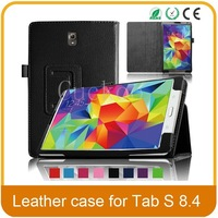 Slim-Fit Folio PU Leather Smart Cover Case for Samsung Galaxy Tab S 8.4-inch tablet ,with Auto Sleep/Wake