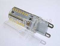 G9 3014 64leds SMD led Warm White & Cold white Led bulb light 3w  Silicone Crystal 220V  20PCS Free shipping