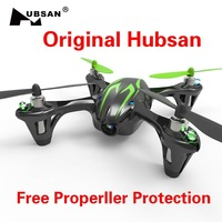 Original Hubsan X4 H107C 2.4G 4CH RC Helicopter Quadcopter With Camera RTF + Transmitter + 380mAh Battery free DROP shipping