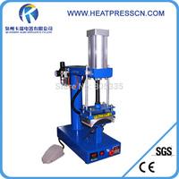 air cap press machine.pneumatic heat press machine