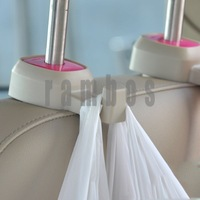 Universal Car Hanger Auto Bags Organizer Hook Car Back Seat Headrest Holder Accessories for Car
