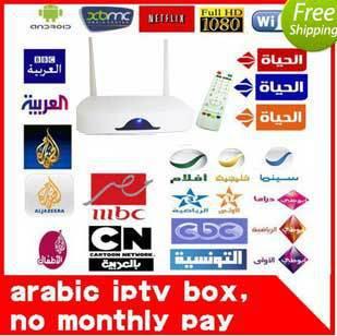 hot Remote Control Free, Arabic IPTV Box, 700 Plus IPTV Arabic Channel TV Box Android 4.2 WiFi HDMI Smart Android Mini PC TV Box(China (Mainland))