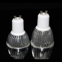 Wholesale(5pieces/lot) led GU10 3W/4W/5W LED Spot Light  Warm/white Spotlights High Brightness 220V free shipping