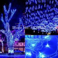 50M 300 LED Blue Lights Decorative Wed Christmas Twinkle String Lighting EU ES9P TK0585 3A