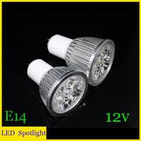 Wholesale(10pieces/lot) led GU5.3 3W/4W/5W LED Spot Light  Warm/white Spotlights High Brightness 12V free shipping