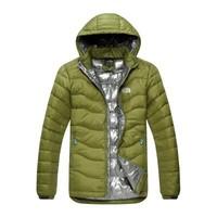 2014 New Arrival fashion warm Outdoor Windbreaker waterproof breathable duck Padded Jacket Sport men down coat winter