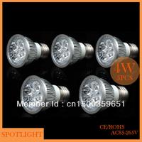 Wholesale(5pieces/lot)led Spot light E27 4W LED energy-saving lamp High power Spotlight LED Bulb Lamp free shipping