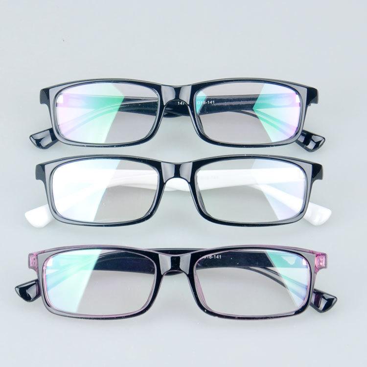 147 Comfortable Plastic full rim rectangle in stock eyeglasses optical frame(China (Mainland))
