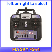 Free shipping!!2014 New Version FS FlySky FS-i4 2.4G 4ch Transmitter and Receiver System LED for RC helicopter Glider VS FS-T6