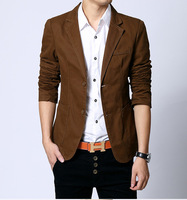 2014 New Hot Cotton Men's Casual Version Suit Jacket Quality Blazer