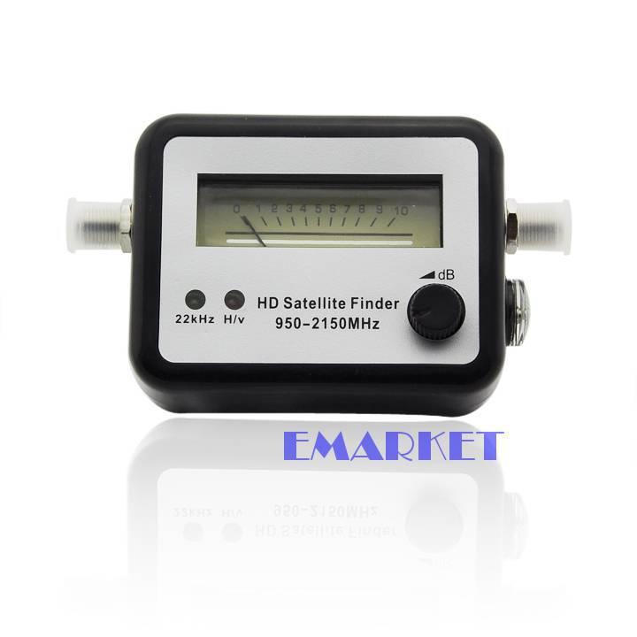 DZ88 Satellite Signal Finder Meter Dish FTA HD Monitors Signal Strength Meter TK1042(China (Mainland))