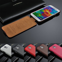 New 2014 High Quality For Galaxy S5 i9600 Litchi Skin Genuine Leather Wallet Flip Cell Phone Bag Case For Samsung Galaxy S5