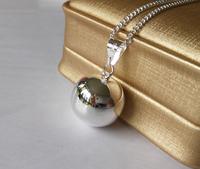 HOT SELLING!!10pcs wholesale Angel Sound sterling silver Ball Necklace pendant,10pcs/lot,Hot!!