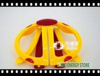 Yellow Beatles shape for kids Circular polarized 3d glasses for 3D TVs like LG Vizio TCL Konka, etc