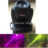 New 2 PCS/Lot Packed in Flight Case 19 DMX Chs 2R Beam 120W Moving Head Zoom Spot Wash Beam DJ Lightings, Free Shipping