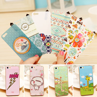 Airglow Cartoon Skin Coat Sticker Screen Protector for iPhone 5/5S, Retail Package