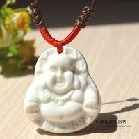 Ceramic necklace pendant men's necklace clothes and accessories