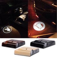 Car laser wireless welcome light lights door lamp refires projection