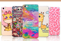 Airglow Cute Skin Coat Sticker Screen Protector for iPhone 5/5S, Retail Package