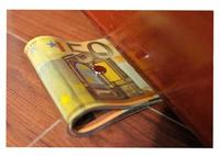 Creative Money Door Stopper Dollar / Japanese Yen / Euro Bill Currency Door Stopper 2pcs/lot
