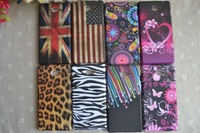 usa uk flag heart rose stars leopard grain zebra butterfly Jellyfish owl soft tpu case for Sony Xperia M2 S50H Dual D2302 D2305