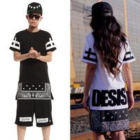 ktz rhude DGK hood by air bandana shirt skateboard pyrex women men hiphop clothes boys Hip hop dance Clothes zipper hba t shirt