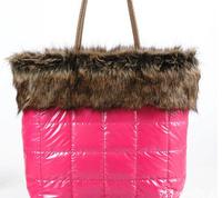 Han edition 2014 winter fur maomao bag down bag