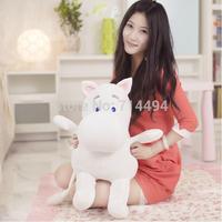 Genuine 25cm Moomin Hippo Plush Toy Stuffed Doll little fertilizer valentine Park Spring bom Free shipping