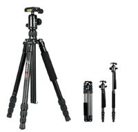 koolehaoda Lightweight carbon fiber Tripod with Monopod & Ball Head for camera