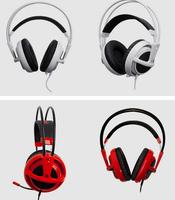 New SteelSeries Siberia V2 Full-Size Headphone Stereo Gaming Headsets