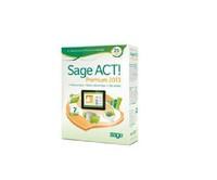 Customer management software Sage ACT Premium 2013, fully functional English version