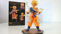 movie cartoon model anime figure dragon ball z series fighter action model free shipping Son Goku figurine