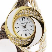 hot sale 2014 casual new bracelet fashion rhinestone ladies women wrist quartz watch relogio feminino