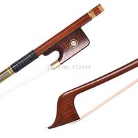 GOLD PERNAMBUCO 4/4 Cello Bow Snakewood Frog #8512