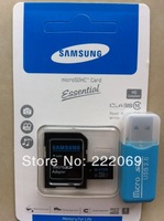 Wholesale Lowest price discount Micro SD Card 64G/32G/16G/8G Class 10 Memory Cards Flash Memory Card SDHC + Adapter + Reader