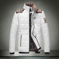 New Arrival ! Men stand collar jacket, cotton jacket , 3 colors 5XL