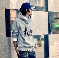 M-XXL  2014 Fashion New winter hooded sweater 3 color  Warm and comfortable casual men's guard garments Free Shipping