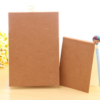Soft copy minimalist retro kraft cover notebook painting notepad A5/A6 free shipping OF026