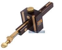 Luxury British Indonesia Ebony+Pure Copper Wearproof Carpenter Woodworking Tool 8INCH Screw Cutting Gauge Mark Scraper Scribers