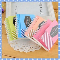 [Amy] free shipping 5pcs/lot The pure color contracted foreign language learning notebook high quality on Amy shop