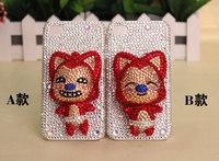 Hot Sale 2014 New Fashion 3D Bling Bling Diamond  Phone Case Diamond Mobile Phone Case