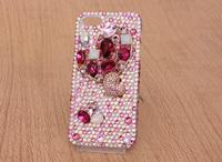 Hot Selling 2014 New Arrival Fashion 3D Bling Bling Diamond  Phone Case Diamond Mobile Phone Case