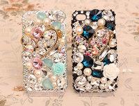 2014 New Arrival Fashion 3D Bling Bling Diamond  Phone Case Diamond Mobile Phone Case