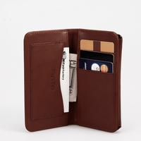 Luxury Designer Crazy Horse Leather Wallet With Prestigio Phone Cases Carteira Capinha De Celular Unisex Travel Wallets MT-PH-57