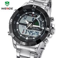 WEIDE Men Sports Watch Multi-function Military Watch for Men Japan Quartz Black Light Classic Design 12-month Guarantee 3ATM