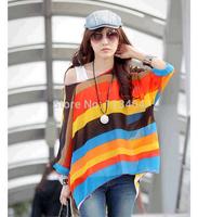 fashion women zara2014 Sweet fashion Bohemian style women big size Dolman Sleeve chiffon casual blouse Plus Size
