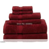 Free Shipping 100% Egyptian Cotton 725gsm 3PCS Bath Towel Set Face Towel Hand Towel Towel Gift Home Textile
