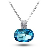 Crazy price ! rhinestone , lead-tin alloy or 14k gold plated classic  pendant crystal jewelry necklace! G066